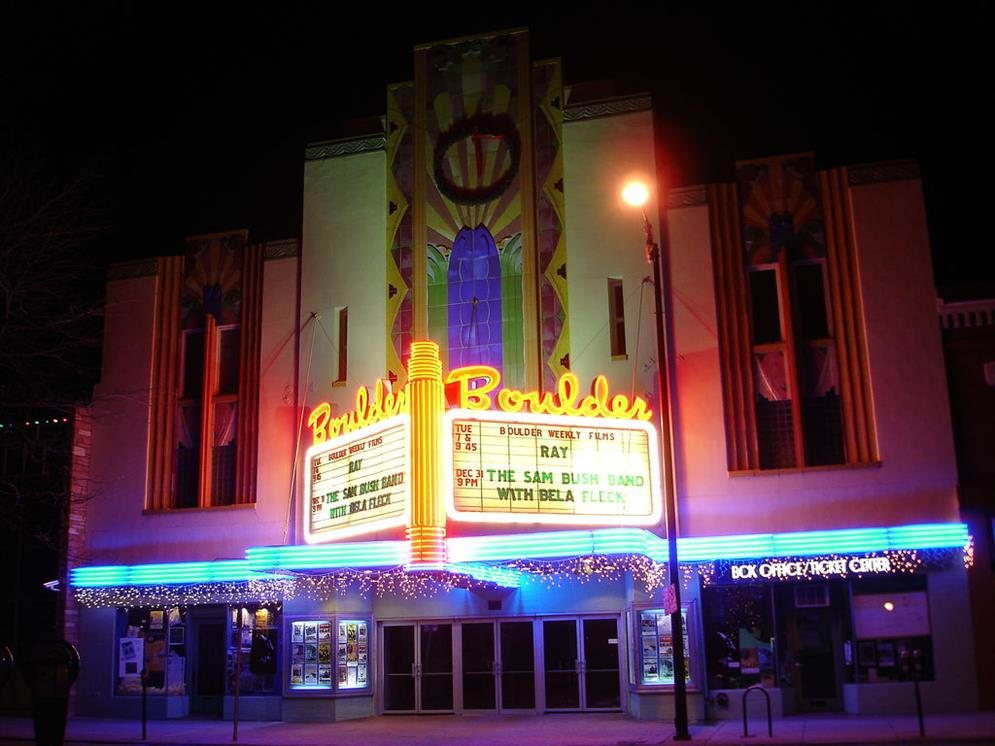 Boulder Theater Boulder Colorado Real Haunted Place