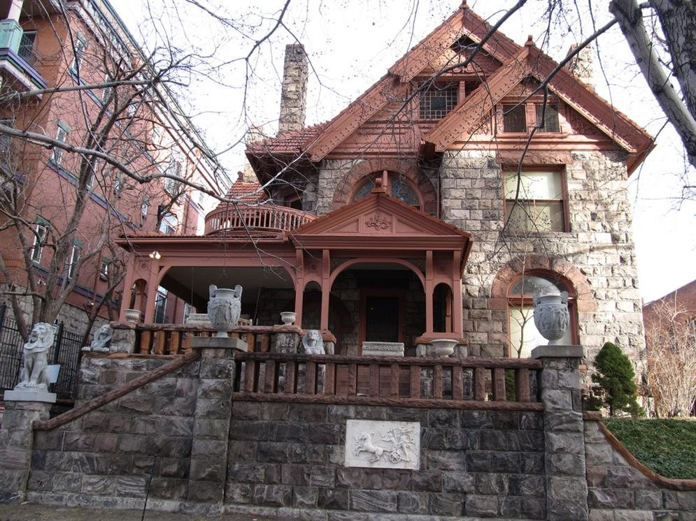 Molly Brown House Denver Colorado Real Haunted Place